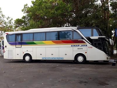 Foto Bus Sinar Jaya 75RD