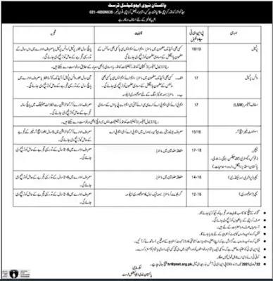 Pakistan Navy Education Trust Jobs 2021