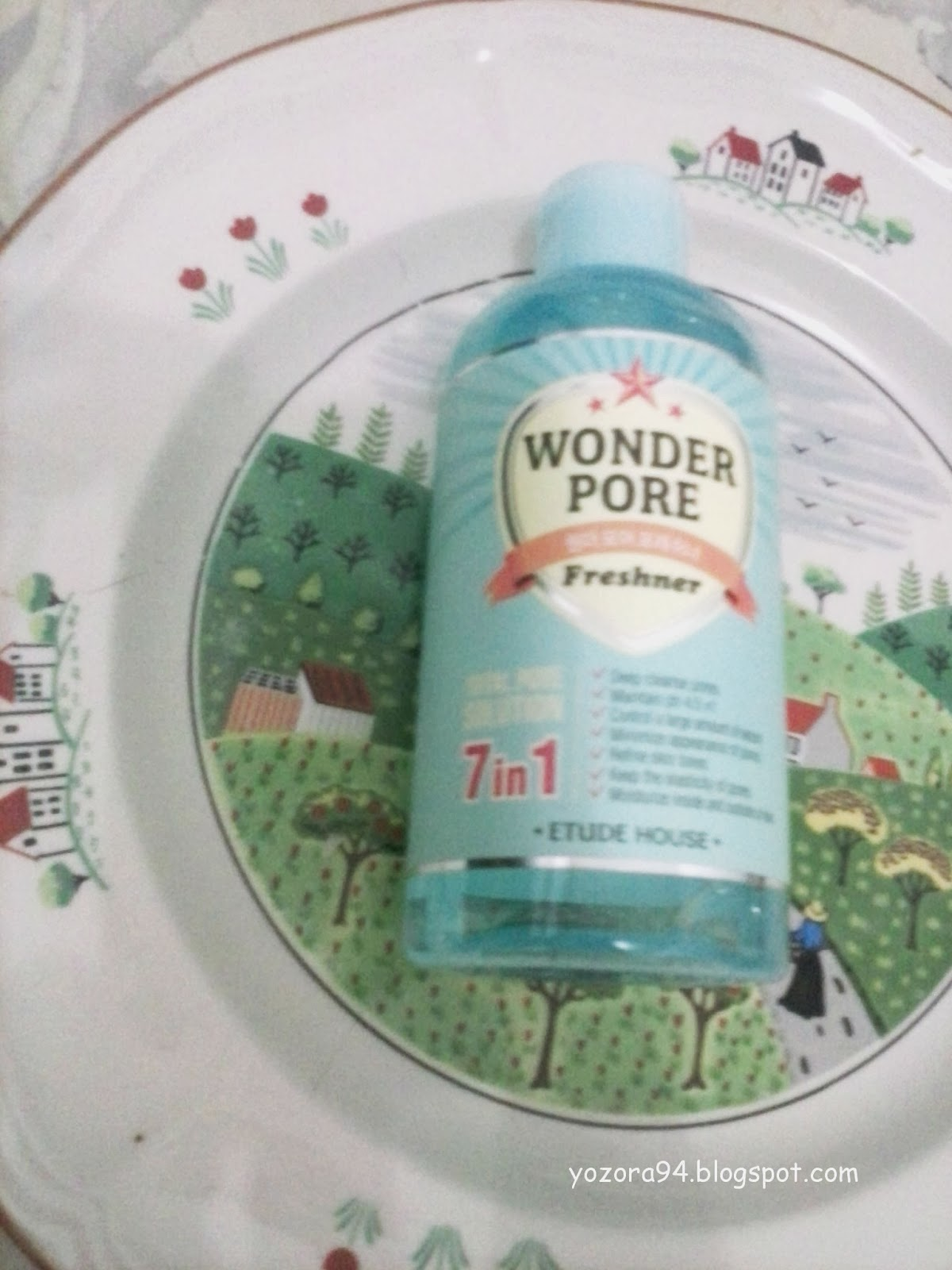 Review Etude House Wonder Pore Freshner Ells Beauty Diary 500 Ml This Toner Is 6 Free So It Doesnt Contain Parabens Mineral Oil Artificial Fragrance Pigments Talc And Animal Ingredients