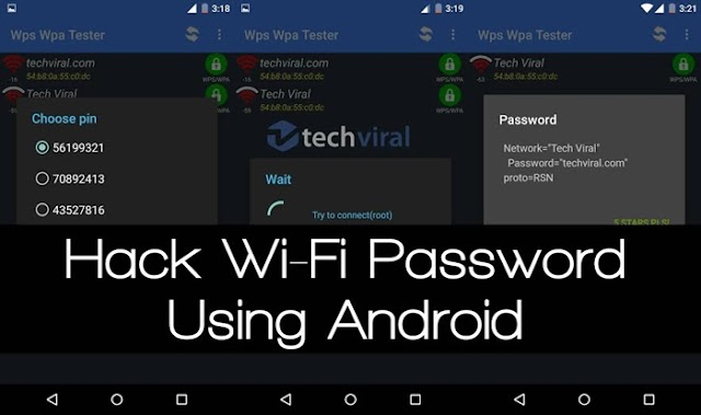 Best 3 Method to Hack WiFi Password using Mobile without Root