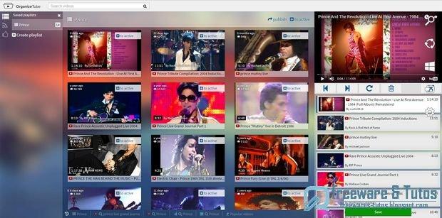 OrganizeTube : un service web de création de playlists vidéo
