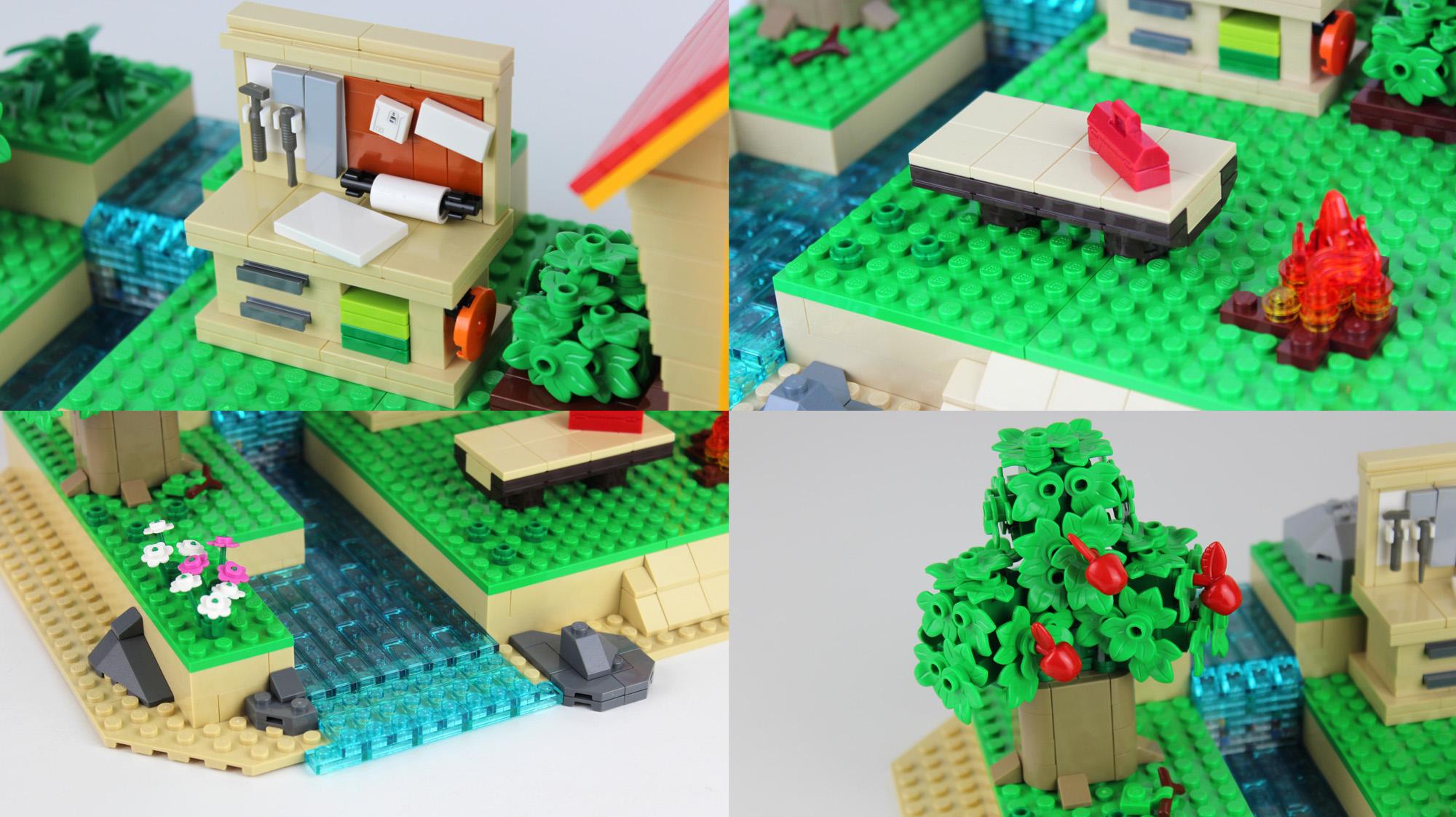 レゴアイデアで『あつまれ どうぶつの森』が製品化レビュー進出!2021年第1回1万サポート獲得デザイン紹介