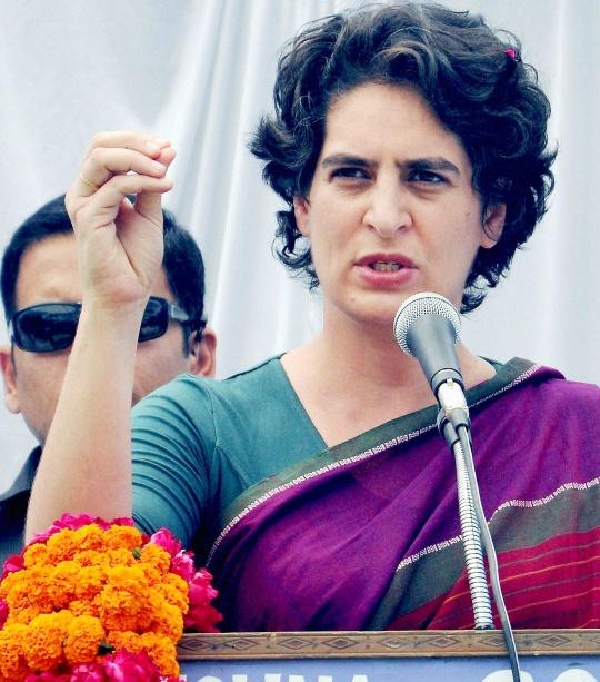 प्रियंका गांधी कर सकती हैं यूपी चुनाव में प्रचार
