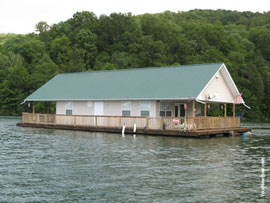 barge house