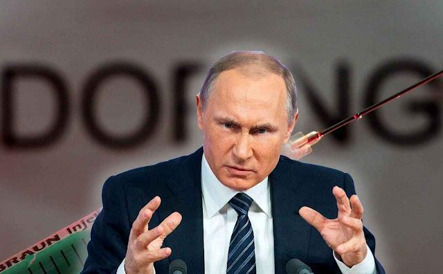 Putin apontado pela Agência Mundial Antidoping como peça fundamental do esquema de dopagem de atletas na Rússia