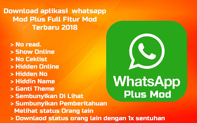 Download Apk Whatsapp Plus Mod Clone Versi Terbaru 2018