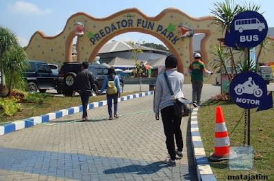 pintu masuk wisata predator fun park malang