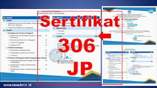 Sertifikat Guru Penggerak 306 Jam Pelajaran (JP)