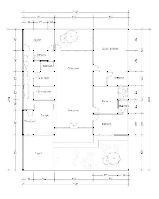 Floor Plan for Plan c-25