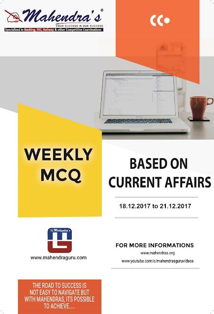 Weekly Pocket |  December 18, 2017 - December 21, 2017