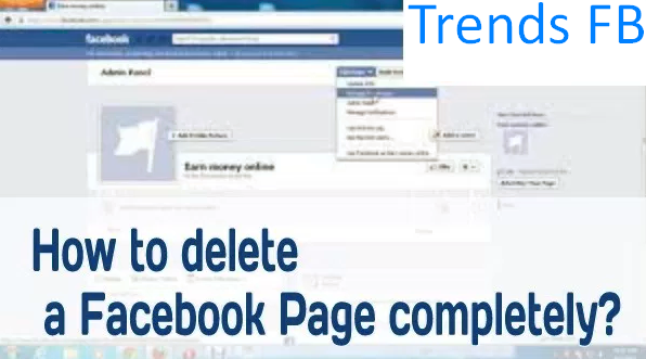 to delete a page on facebook - - 142.5KB