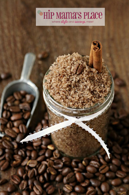 DIY Coffee Body Scrub by Hip Mama's Place|One More Time Events-www.onemoretimeevents.com