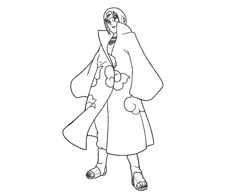 Desenhos Para Colorir Do Sasuke Uchiha Az Dibujos Para
