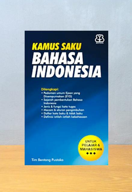 KAMUS SAKU BAHASA INDONESIA, Tim B First