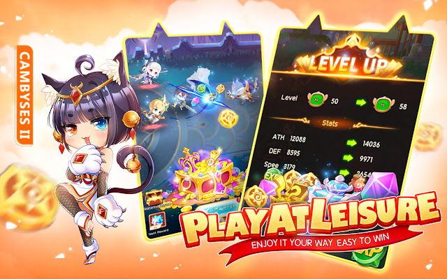 Open Beta Game MoeGirl Go! It's Started and Offers Many Prizes!