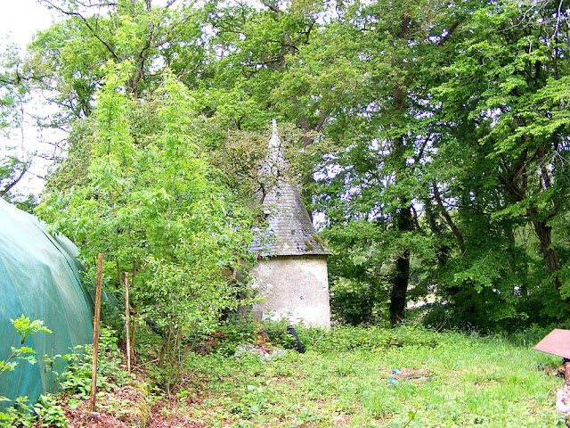 Pepperpot tower in the grounds of the Chateau de la Gendronniere, Loir et Cher, France. Photo by Loire Valley Time Travel.