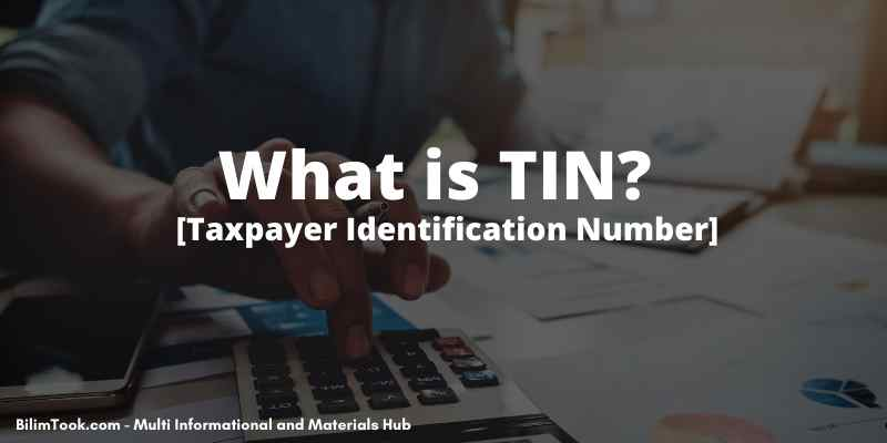 What is TIN? [Taxpayer Identification Number]