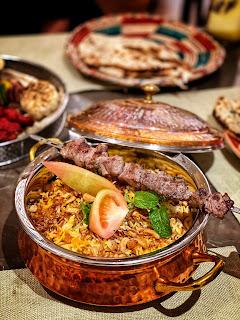 Lamb Biryani, Wahaj, Hyatt Regency, Al Kout Mall