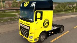 Borussia Dortmund DAF Euro 6 skin