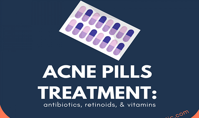 Acne pills-which one works in 2019? #infographic