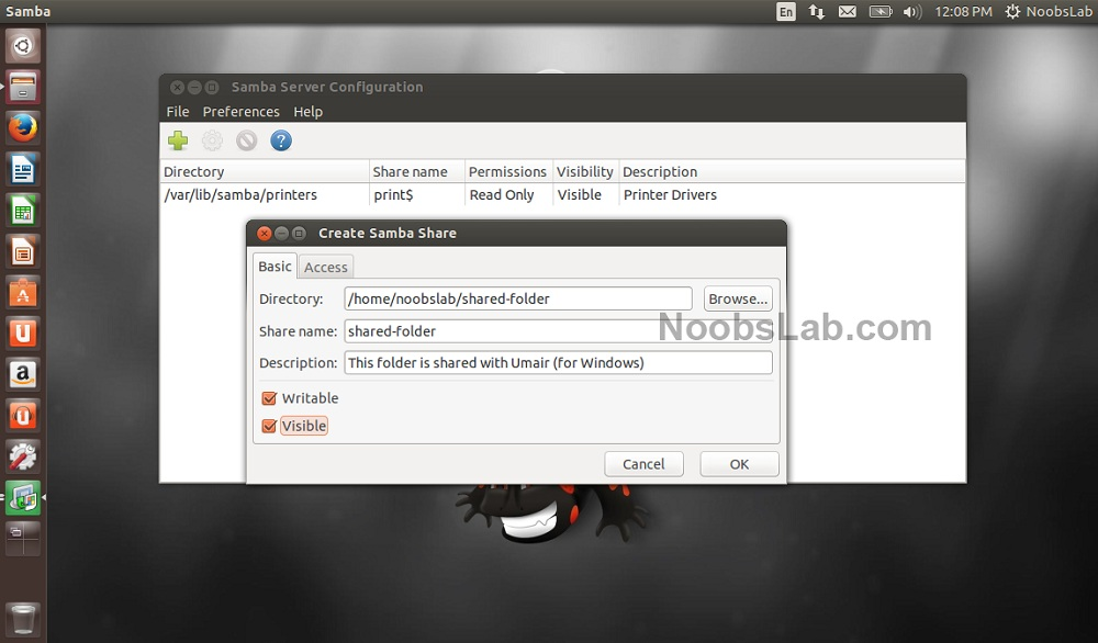 How to Install and Configure Samba Server on Ubuntu 104 for File Sharing