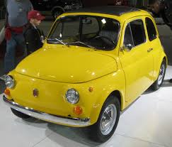 The classic Fiat 500 was Italy's  people's car in the 1950s