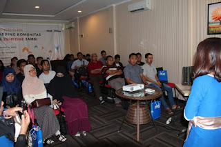 Kumpul bareng Blogger dan Zenfans Jambi di Carpe Diem Cafe