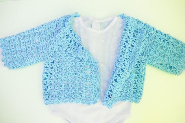 3 - Crochet Chaqueta de verano a crochet y ganchillo por Majovel Crochet