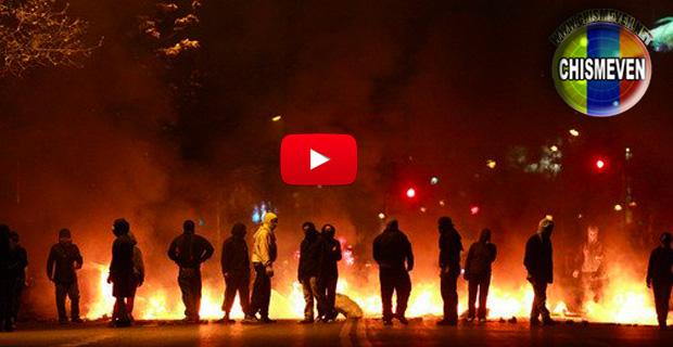 Protestas contra el régimen en los Teques dejaron a dos policías heridos
