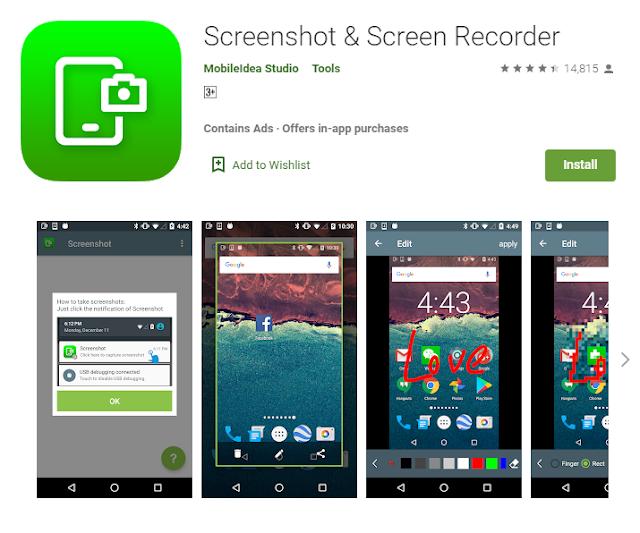 cara screenshot hp oppo dengan aplikasi