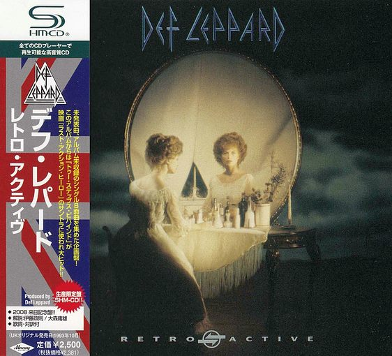 DEF LEPPARD - Retro Active [Japanese SHM-CD] Out Of Print full