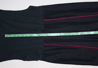 TNG season 2 admiral uniform - trousers zipper