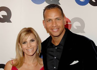 Cynthia Scurtis with her ex-husband Alex Rodriguez