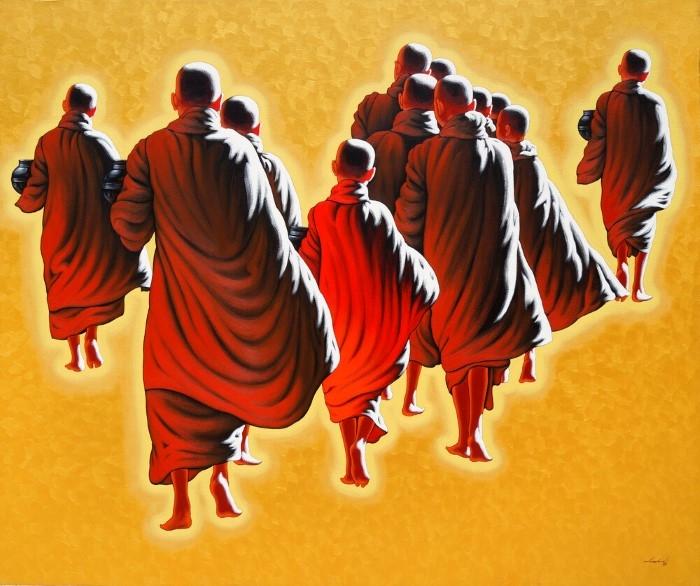 Монахи и монахини