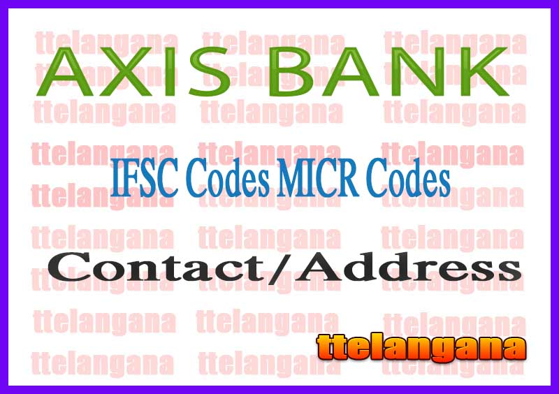 AXIS BANK IFSC MICR Code Delhi State