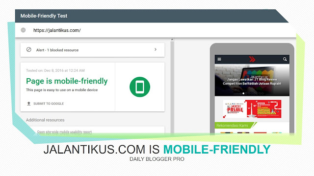 Jalantikus.com is mobile-friendly
