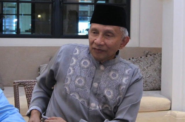 Cerita Amien Rais Kejar Ustadz Somad Jadi Cawapres Prabowo