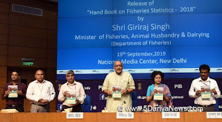 """Handbook on Fisheries Statistics - 2018"""
