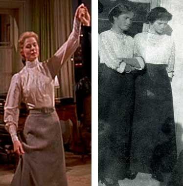 Anastasia filme e ao lado moda em 1910