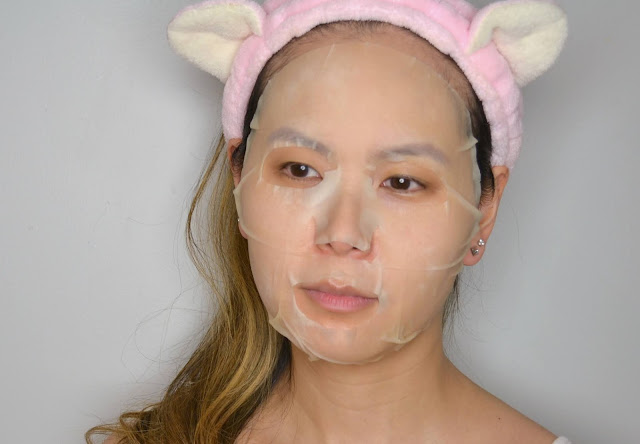 MasqueBAR Naturals Banana Sheet Mask Selfie