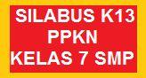 SILABUS K13 PKN KELAS 7 SMP EDISI REVISI TERBARU