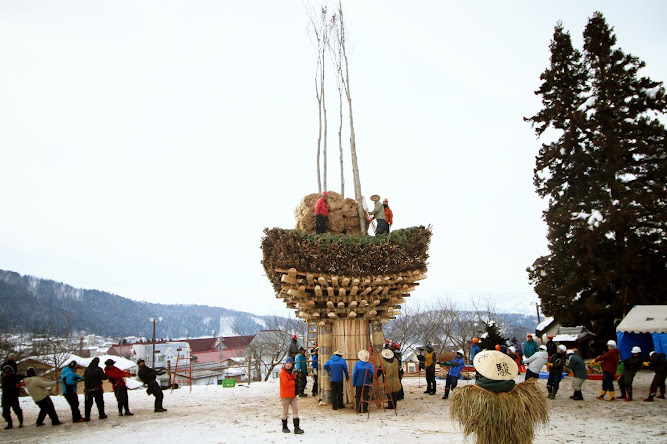 Nozawa Onsen prepares for the Fire Festival