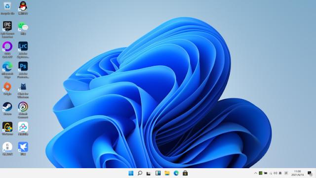 Windows 11 tark bar