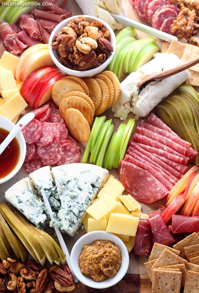 Fall Charcuterie Board (Meat & Cheese Platter) Easy Appetizer For Thanksgiving & Christmas
