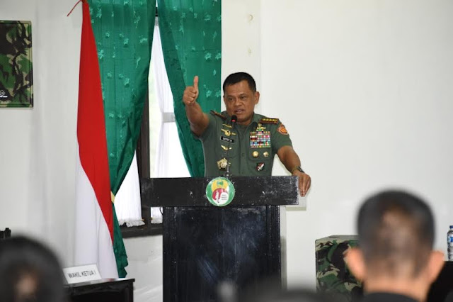 Panglima TNI : Tugas Saya Sebagai Presiden Yongmoodo Selesai