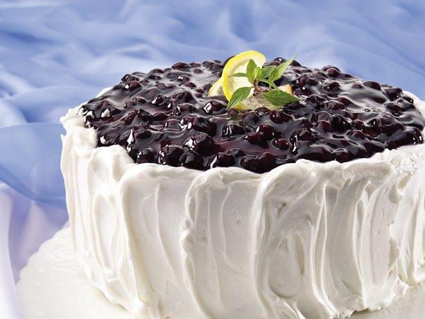 Lemon Cake Recipes Using Box Mix: A Welcoming Heart: Cake Mix Recipes: Blueberry-Lemon Cake