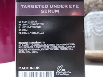 Revolution Skincare 5% Caffeine solution + Hyaluronic Acid sérum na očné okolie zloženie