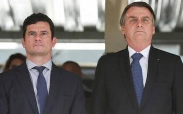 Vídeo de Sérgio Moro ignorando Bolsonaro viraliza ao som de Alcione