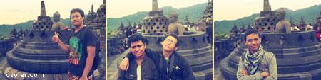 Photo di stupa patung terbuka