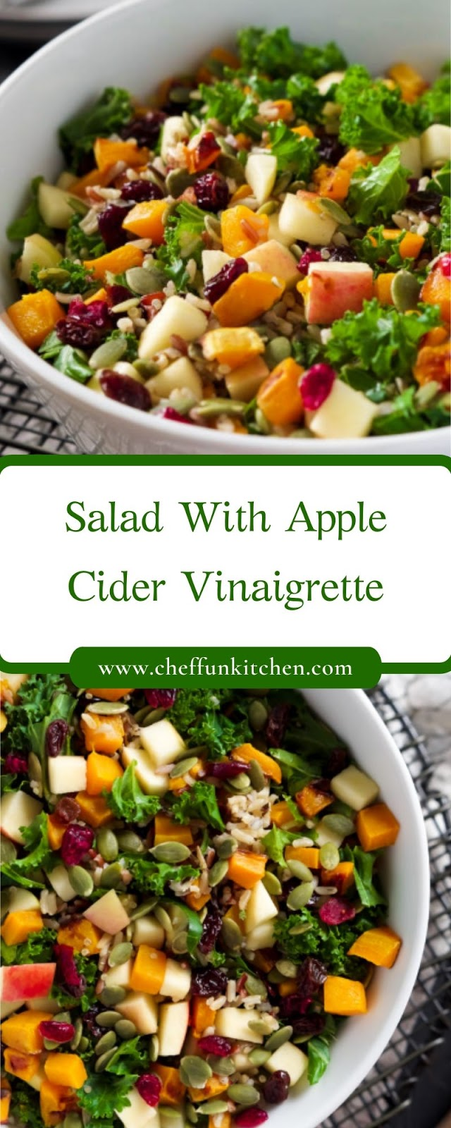 Salad With Apple Cider Vinaigrette
